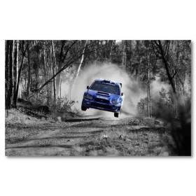 Αφίσα (Subaru, αυτοκίνητο, μαύρο, λευκό, άσπρο)